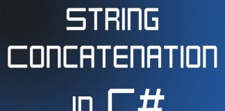 String Concatenation in C#