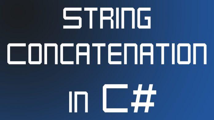 String Concatenation in C#